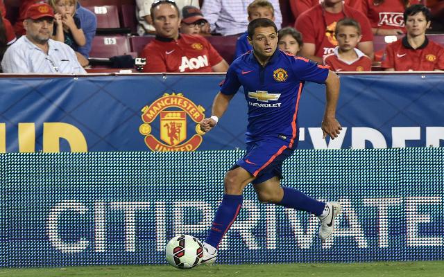 Javier Hernandez Man United