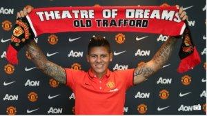 Marcos Rojo Man United