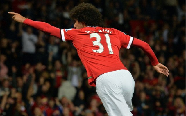 Marouane Fellaini Man United