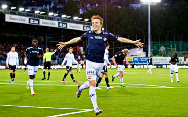 Martin Odegaard, Stromgodset