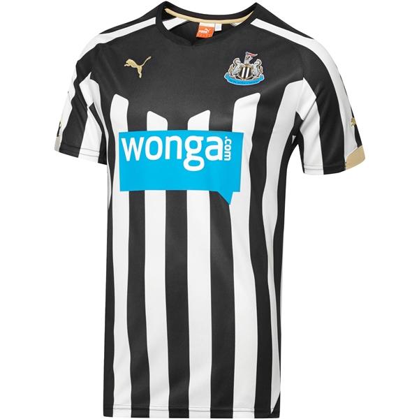 Newcastle home shirt 2014-15