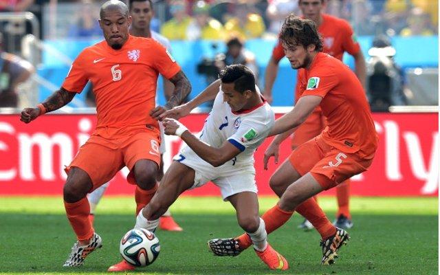 Nigel de Jong Daley Blind Holland