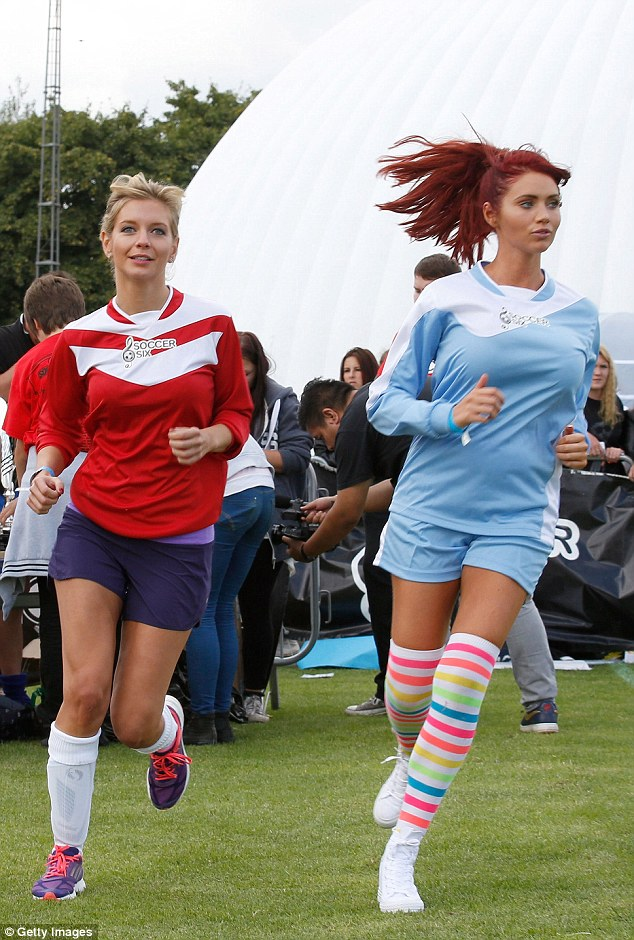 Rachel Riley and Amy Childs