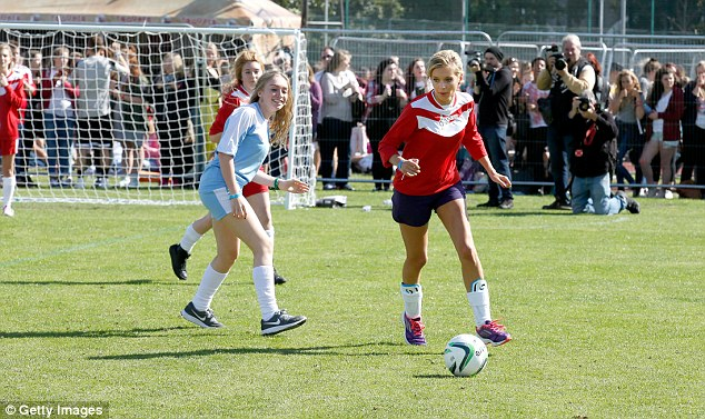 Celebrity football tournament