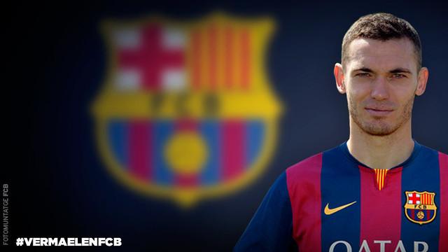 Thomas Vermaelen FC Barcelona