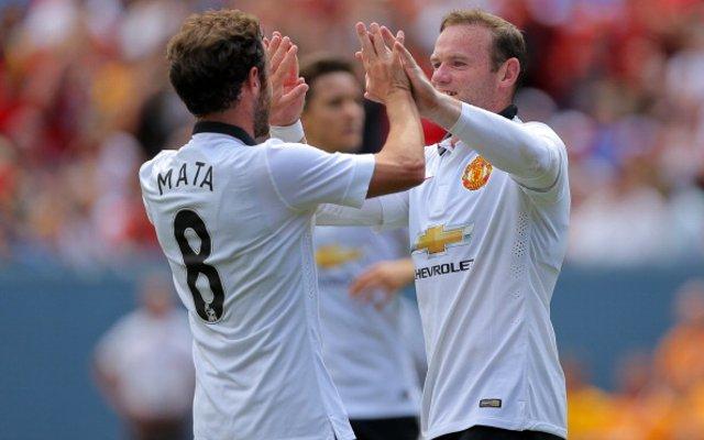 ayne Rooney, Juan Mata