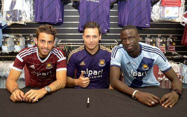 93c4cf68b Images) West Ham United Signings Model New Hammers Kit