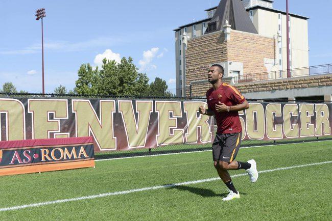Soccer: As Roma; training team in Denver
