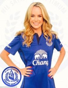 Amanda Holden Everton
