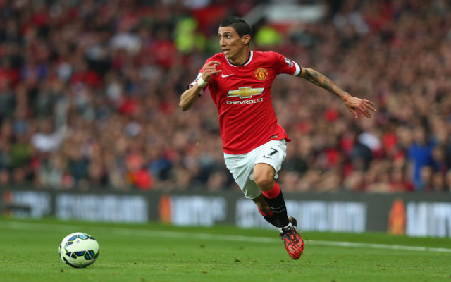 Angel di Maria Manchester United