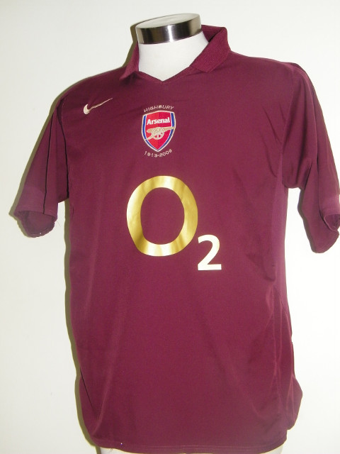 cheap for discount 5cc70 34e39 Top 10 Arsenal Shirts Ever, Including Invincibles Kit ...
