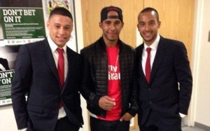 Arsenal Lewis Hamilton 1