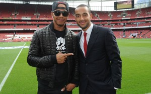 Arsenal Lewis Hamilton 3
