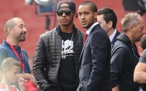 Arsenal Lewis Hamilton 4
