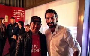 Arsenal Lewis Hamilton 5