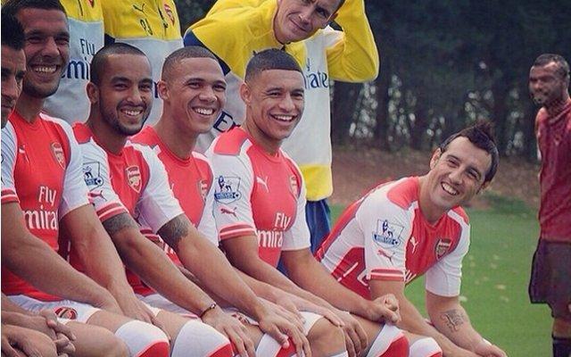 Arsenal Ashley Cole Photo Joke