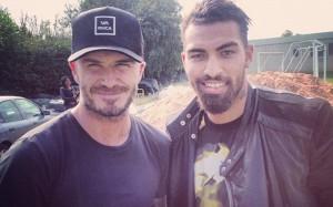 David Beckham at Reading 1