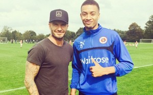 David Beckham at Reading 2