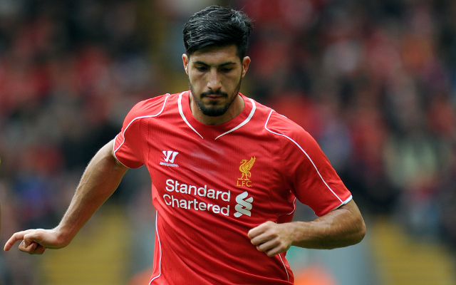 (Images) Ouch! Liverpool Midfielder Emre Can Looks In Pain