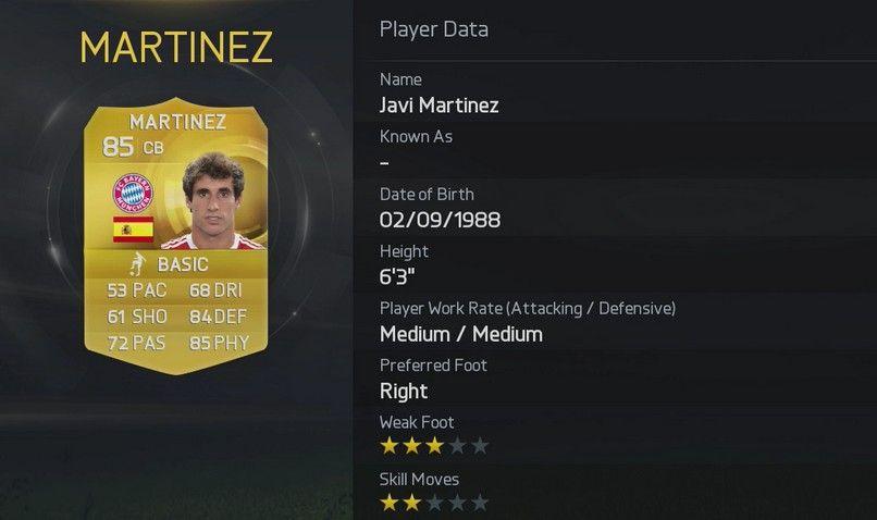 FIFA 15 - Martinez
