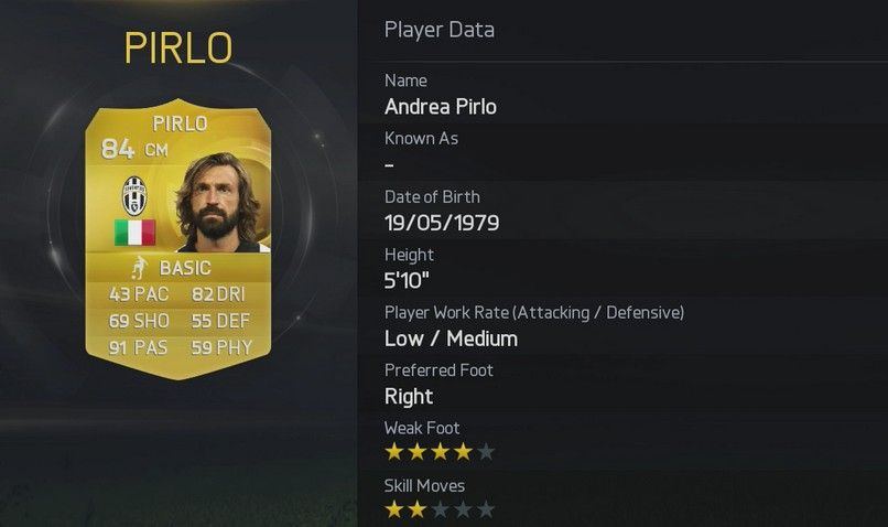 FIFA 15 - Pirlo