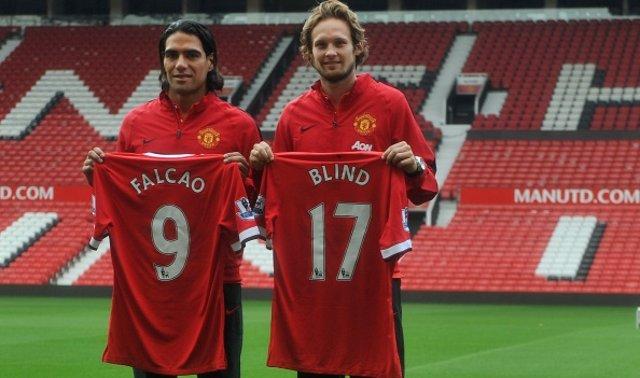 Falcao Blind Man Utd