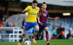 Barcelona v Arsenal - UEFA Youth League Quarter Final