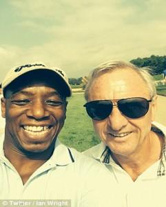 Ian Wright Johan Cruyff