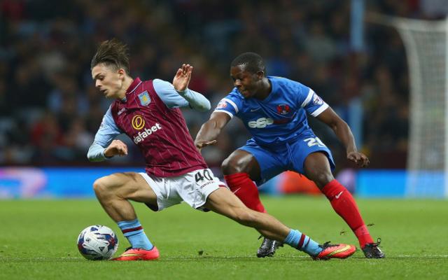 Jack Grealish Aston Villa