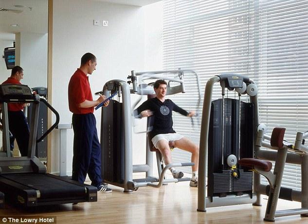 Lowrey Hotel gym