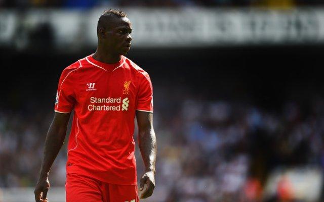 Mario Balotelli Liverpool debut