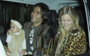 Radamel Falcao Manchester United WAG Daughter
