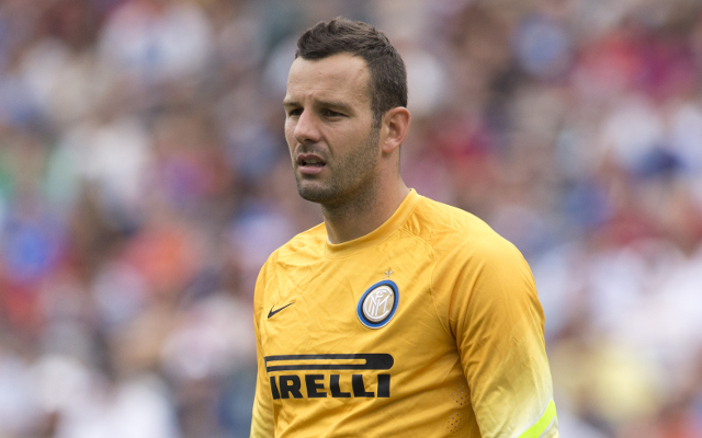 Samir Handanovic Inter Milan