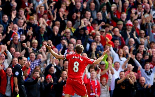 Steven Gerrard Liverpool Everton goal