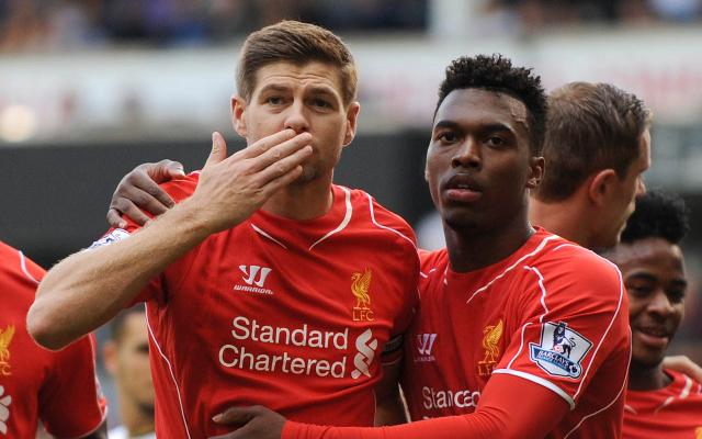 Steven Gerrard - Daniel Sturridge - Liverpool