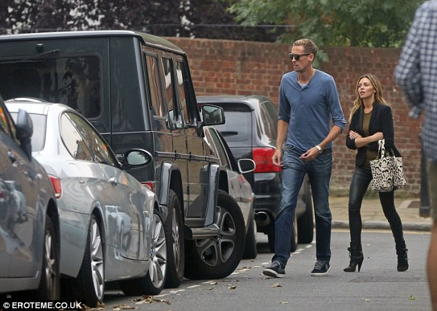 Stoke's Peter Crouch and wife Abbey Clancy