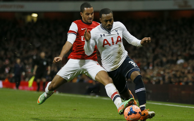 Theo Walcott, Arsenal, and Danny Rose, Tottenham