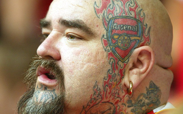 Eight Horrific Football Fan Tattoos Including Arsenal Liverpool Chelsea Man United Stinkers Page 6 Of 8 Caughtoffside