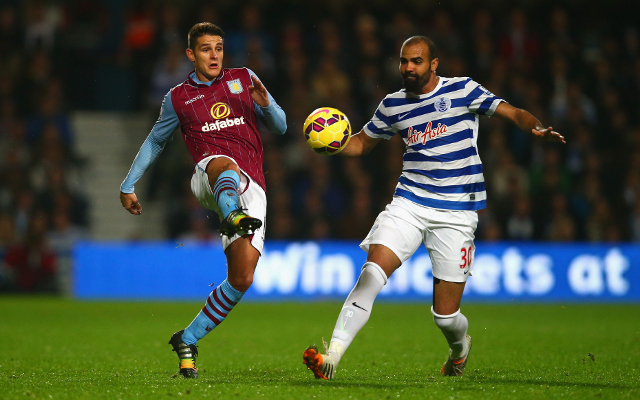Ashley Westwood Aston Villa Sandro QPR