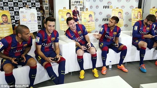 Barcelona FIFA 15