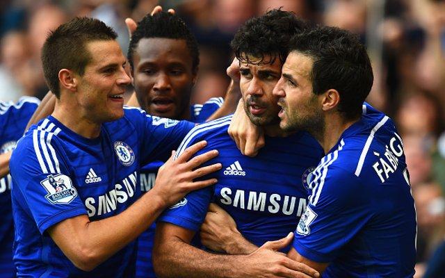 Chelsea Diego Costa Cesc Fabregas Goal