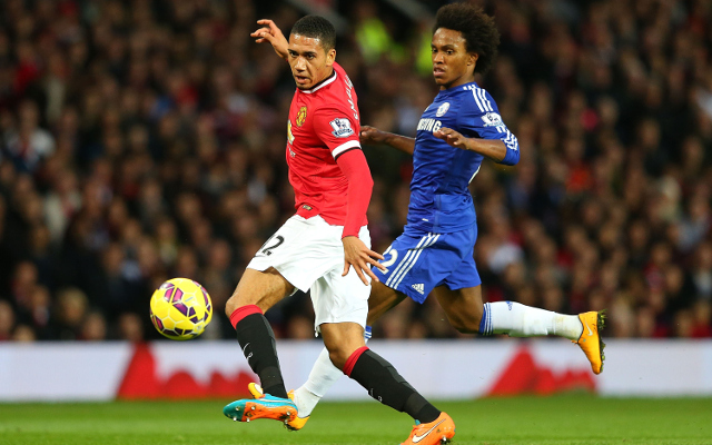 Chris Smalling Manchester United Willian Chelsea