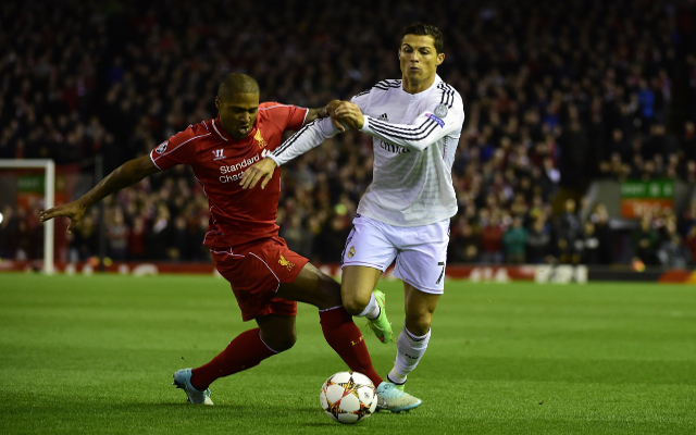 Cristiano Ronaldo Glen Johnson