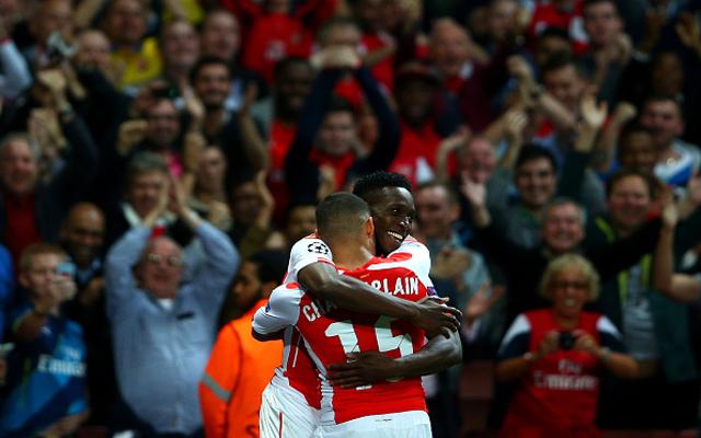 Danny Welbeck Alex Oxlade-Chamberlain Arsenal