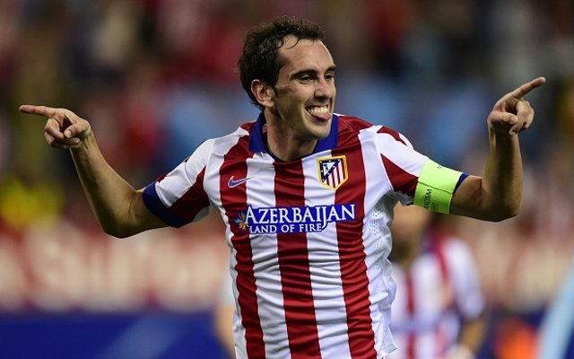 Diego Godin Atletico Madrid Goal