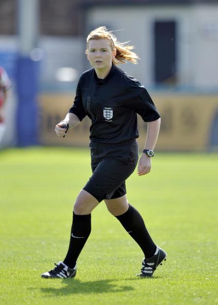 Referee Helen Byrne