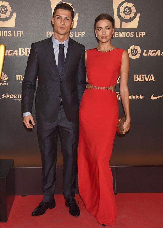 Irina Shayk Cristiano Ronaldo WAG 2