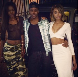 Jourdan Dunn Daniel Sturridge Ex-WAG Liverpool 2