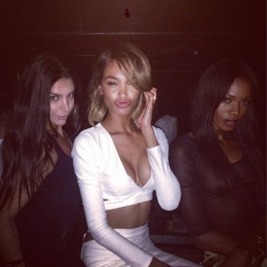 Jourdan Dunn Daniel Sturridge Ex-WAG Liverpool