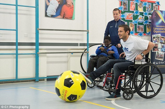 Lampard wheelchair football